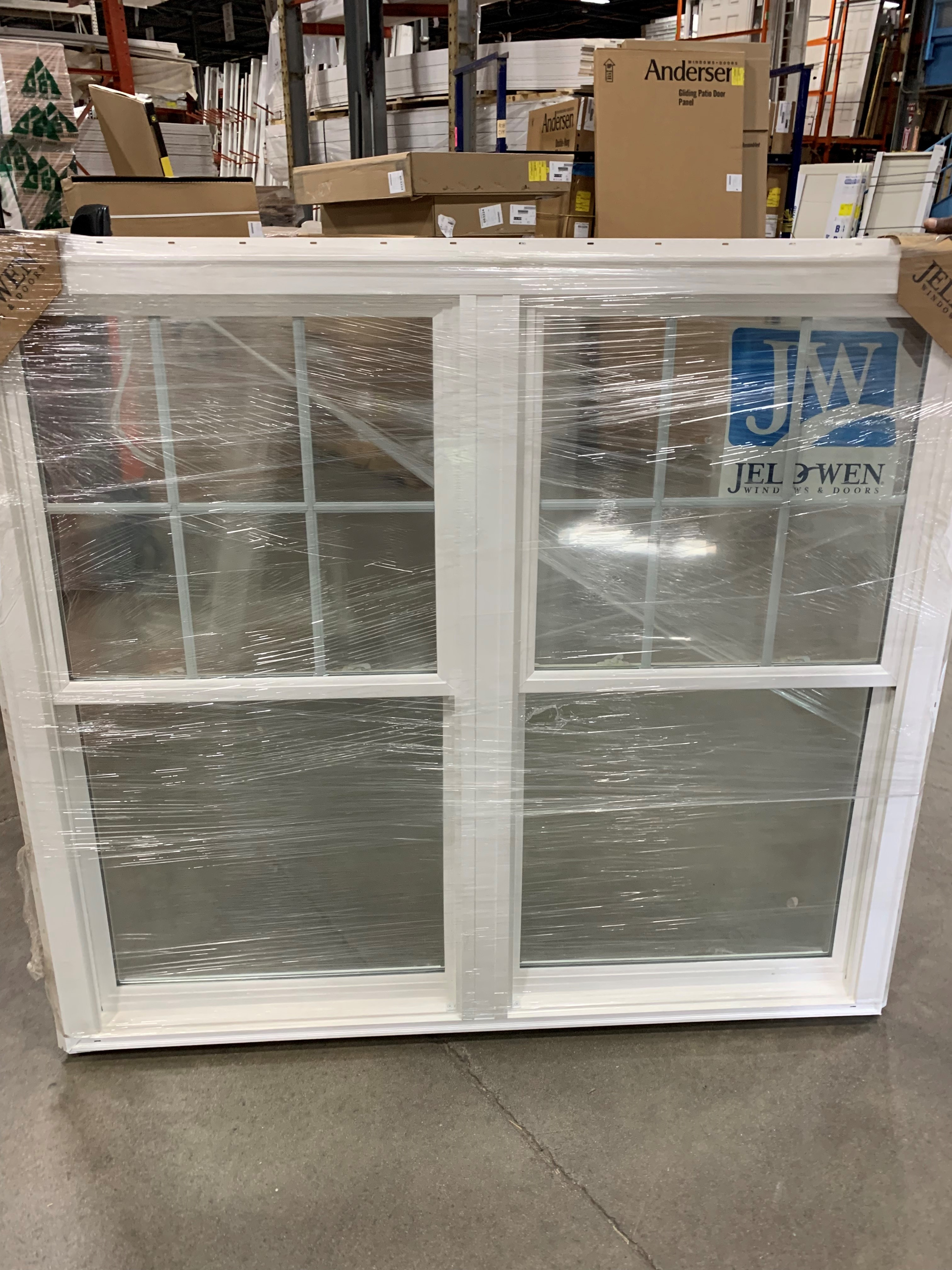 JELD WEN Brickmold double window
