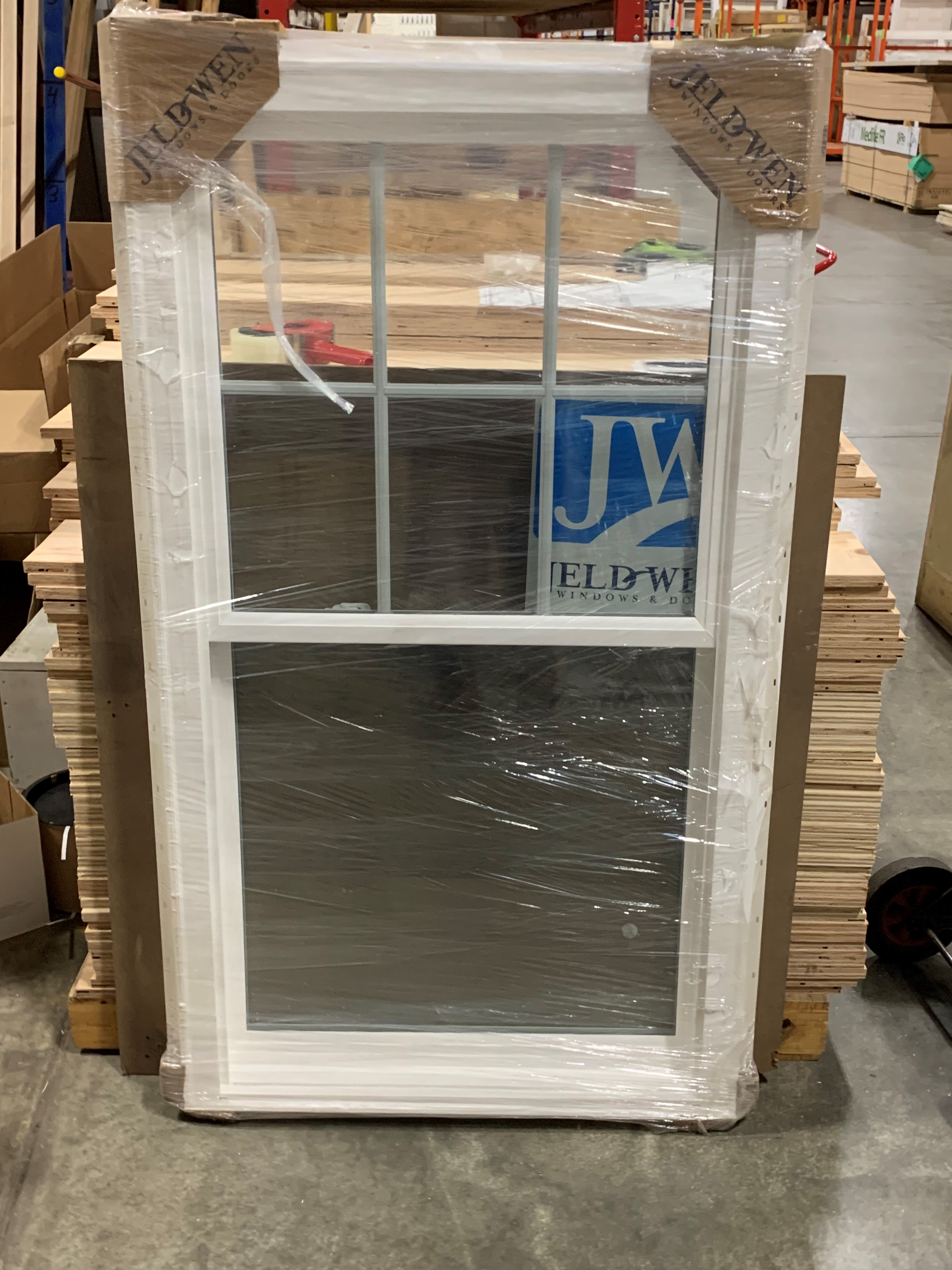 JELD WEN Brickmold Vinyl DH Window