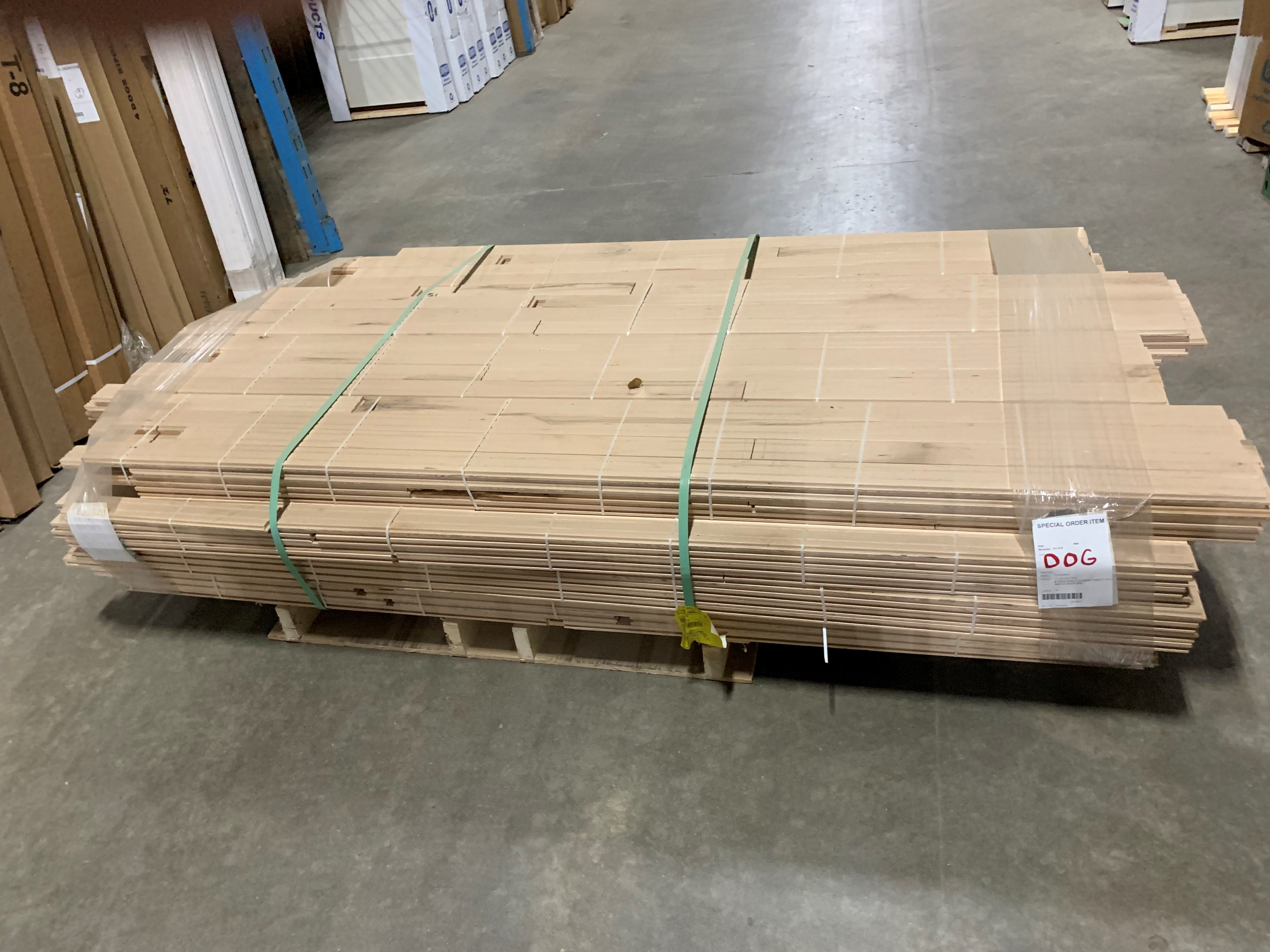 Maple FLOORING **SQFT** 2-1/4