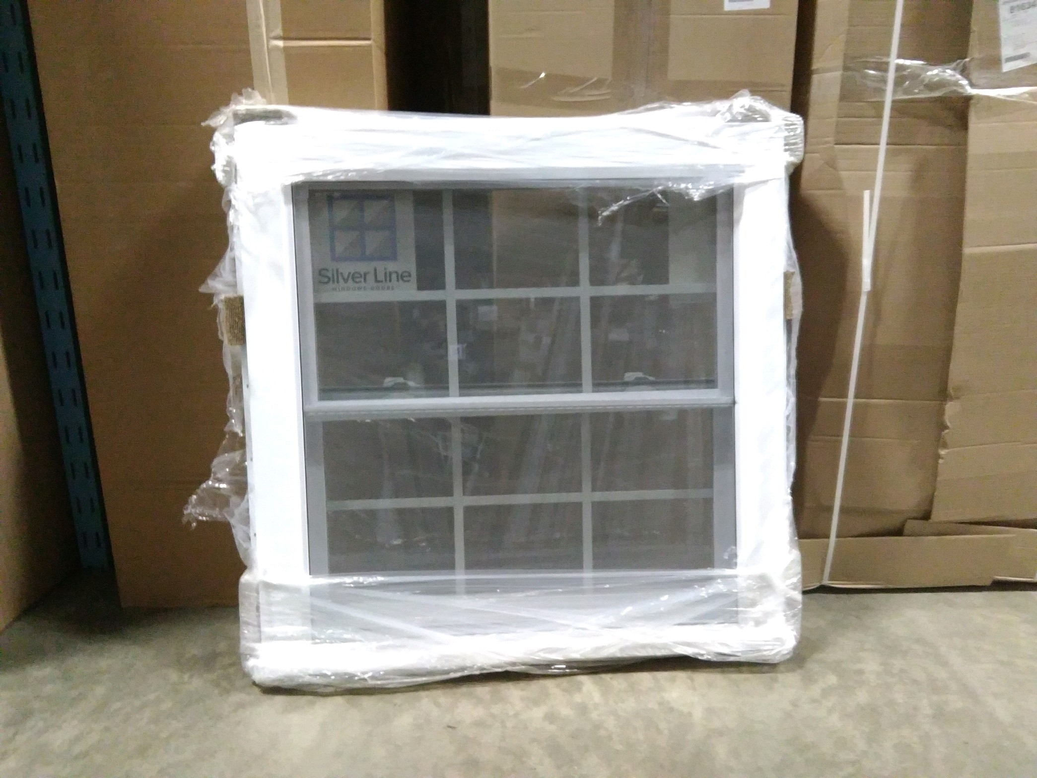 "Silverline Double Hung 40 3/4"" x41 3/4"""
