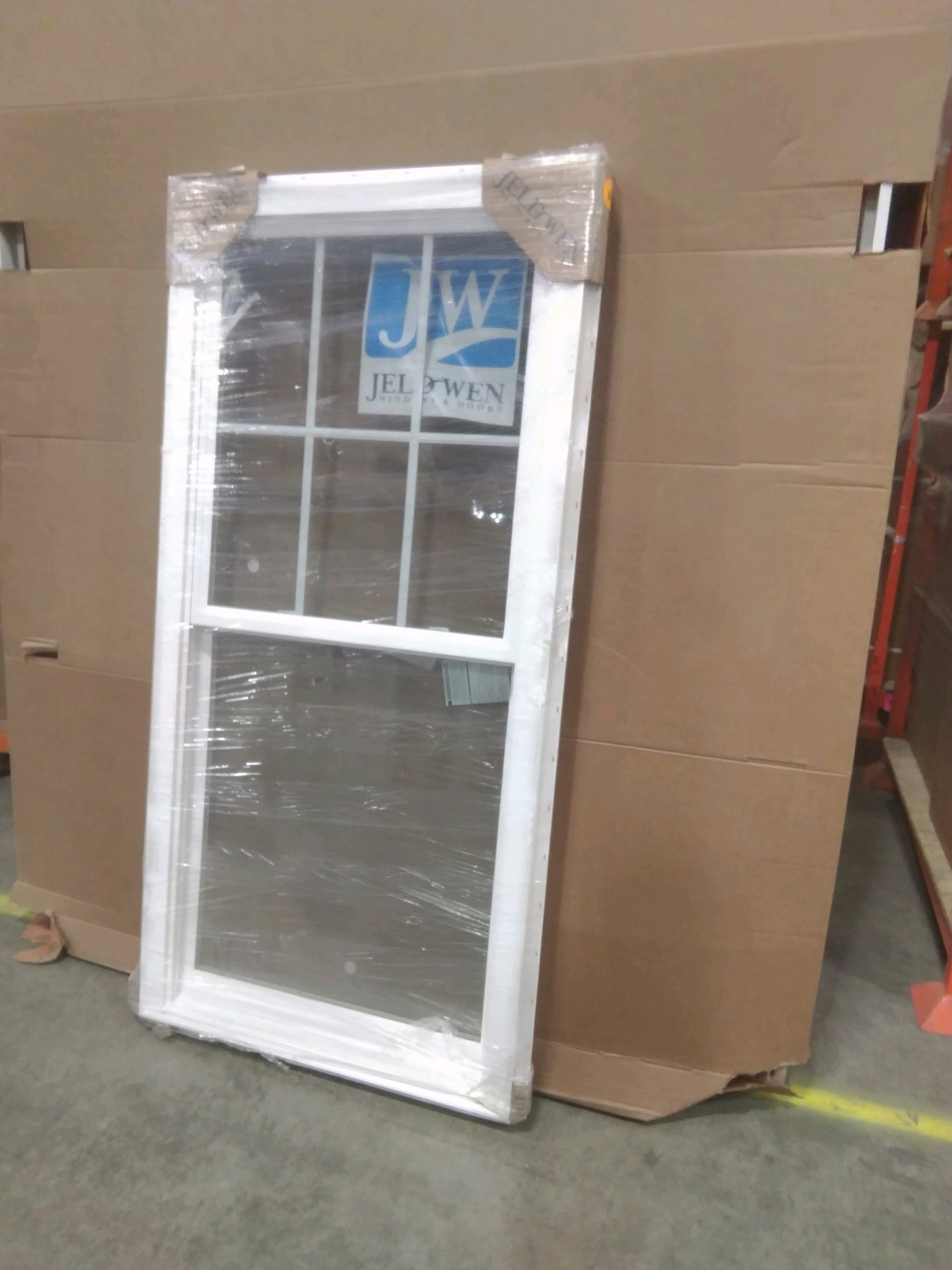 Jeld Wen Brickmould Vinyl 3266 Window