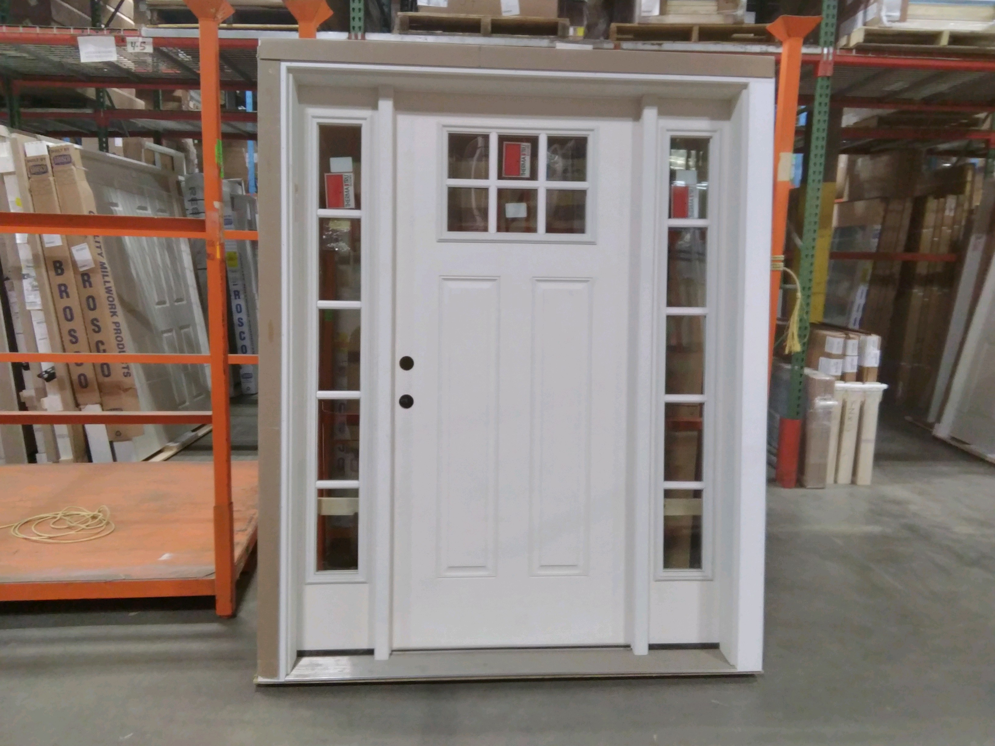 Reeb Ext 3068 Single Door w 2 Sidelites