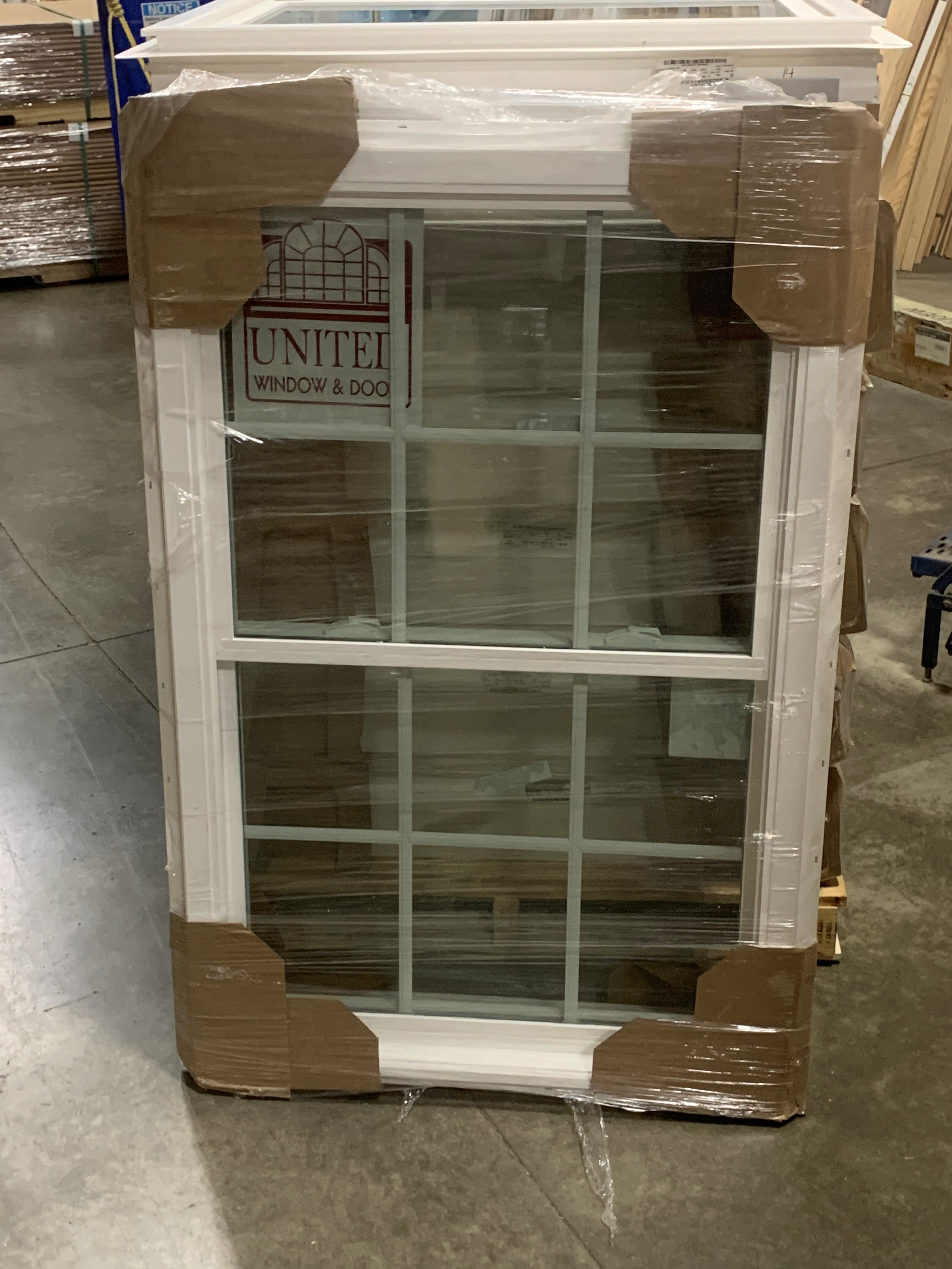 United  2-8 x 4-0, Tempered 6 over 6 window