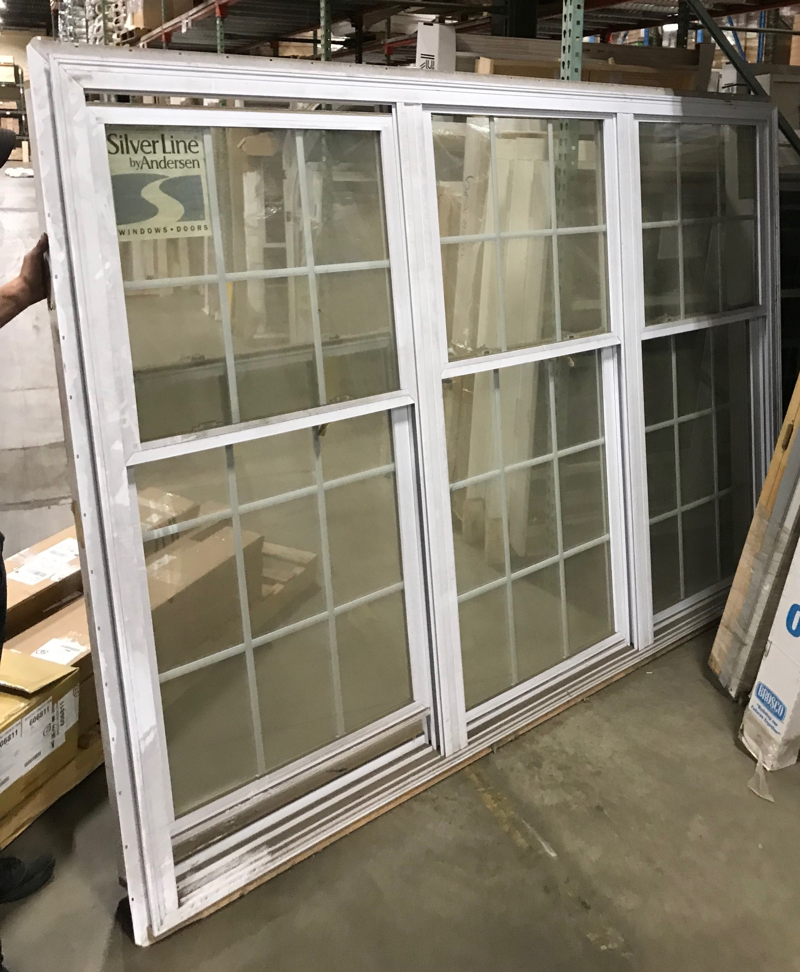 Andersen Silverline 3003v Double Hung Triple Window