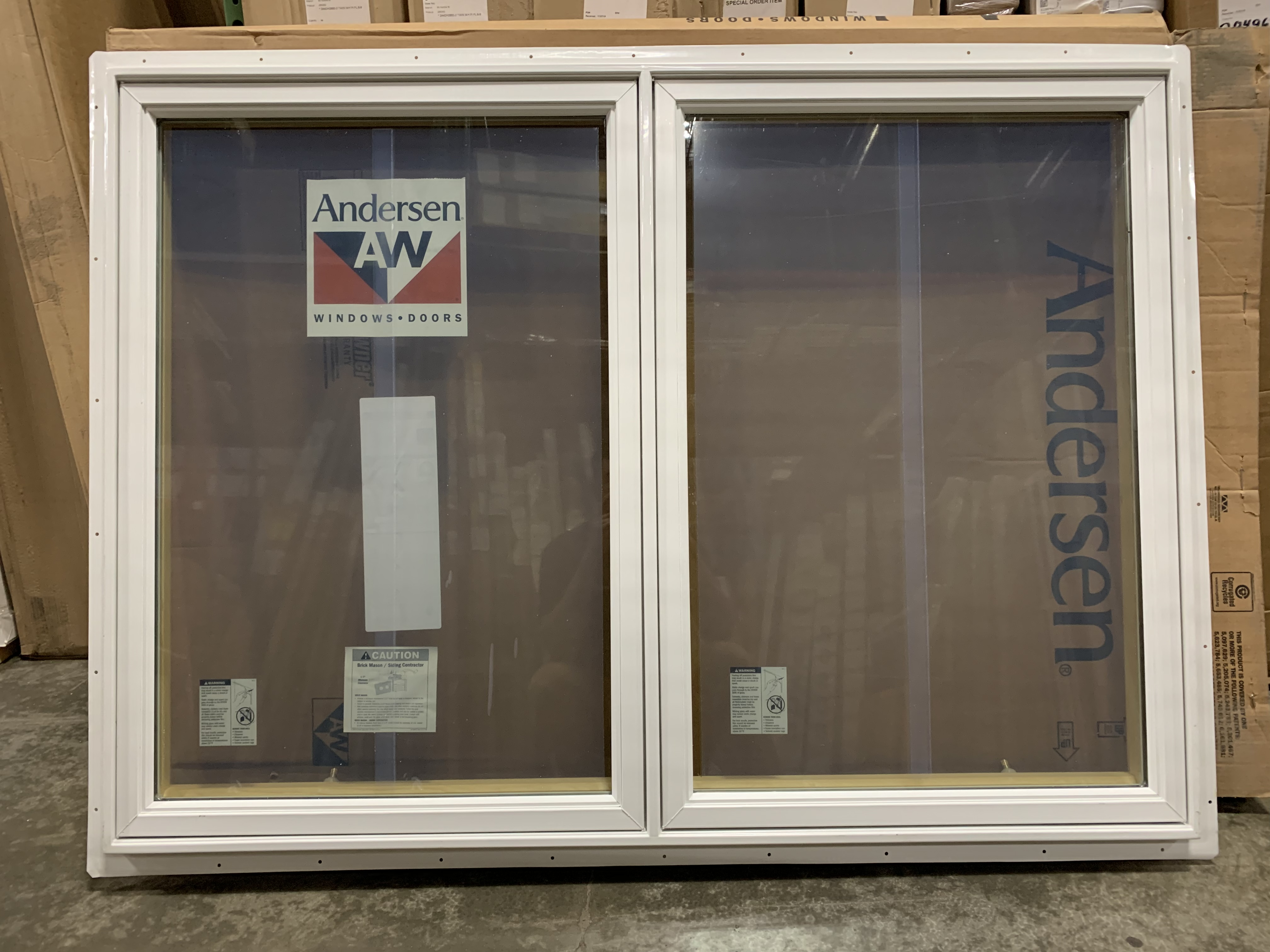 Andersen 400 Series Twin White LR Handing Casement Window