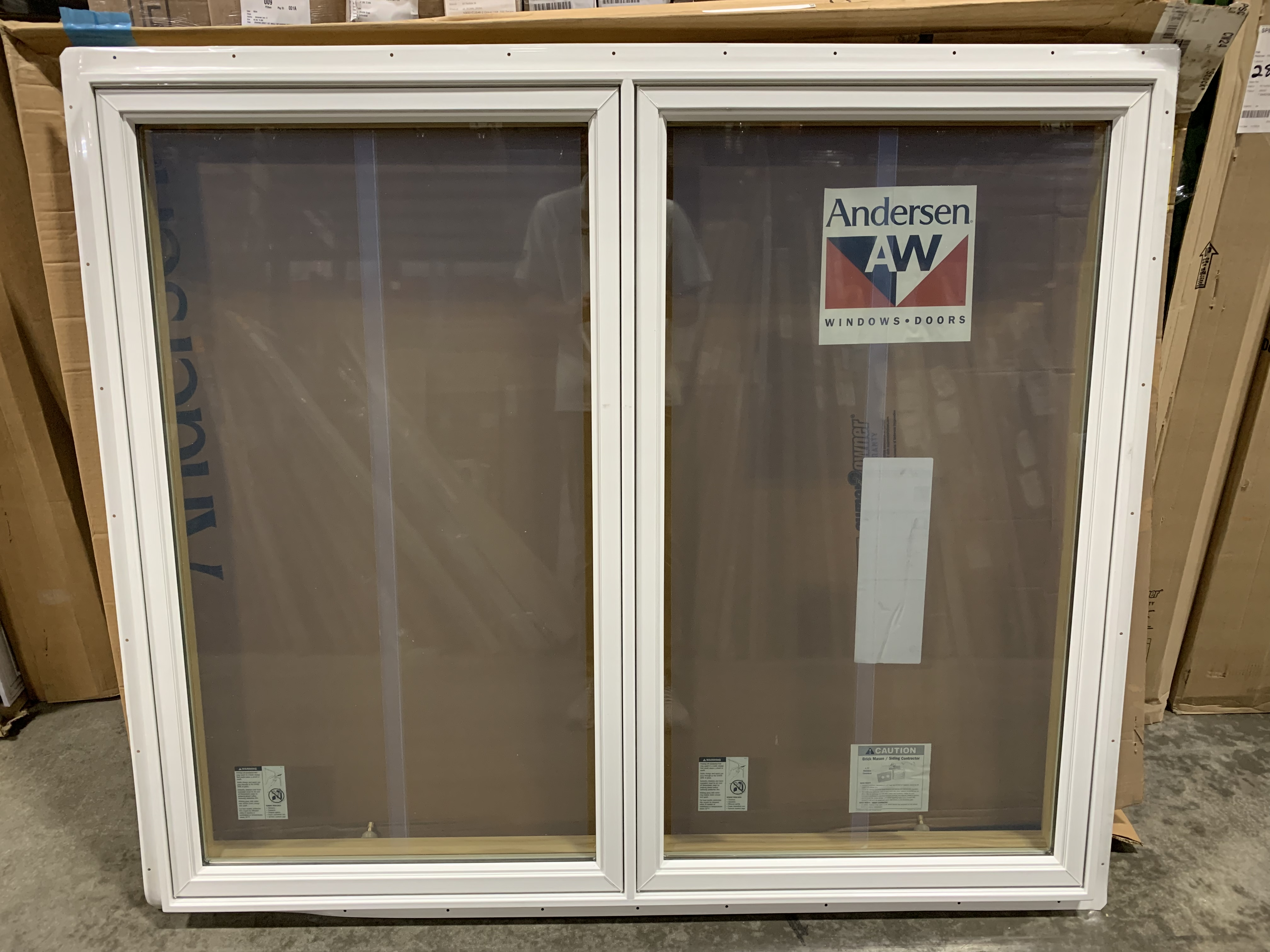 Andersen 400 Series Dual Pane LR Handing Casement Window