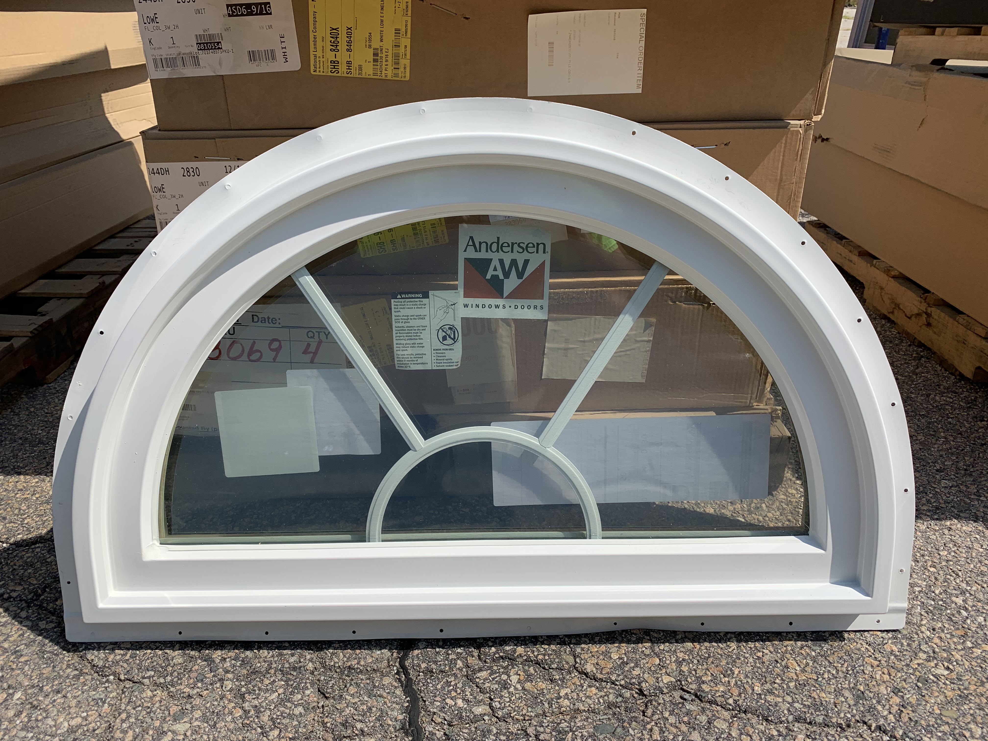 Andersen 244CT30 White Window