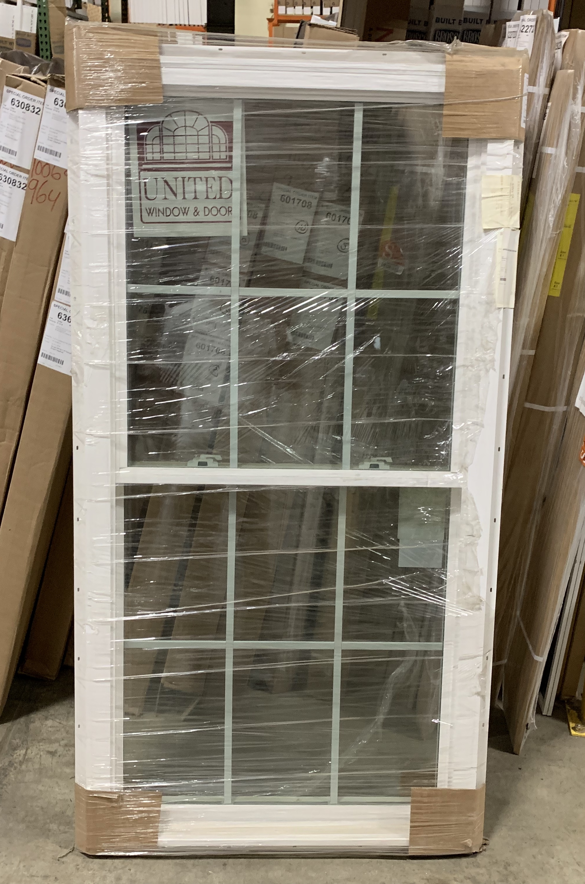 United 55DH Double Glazing Window w/Grids