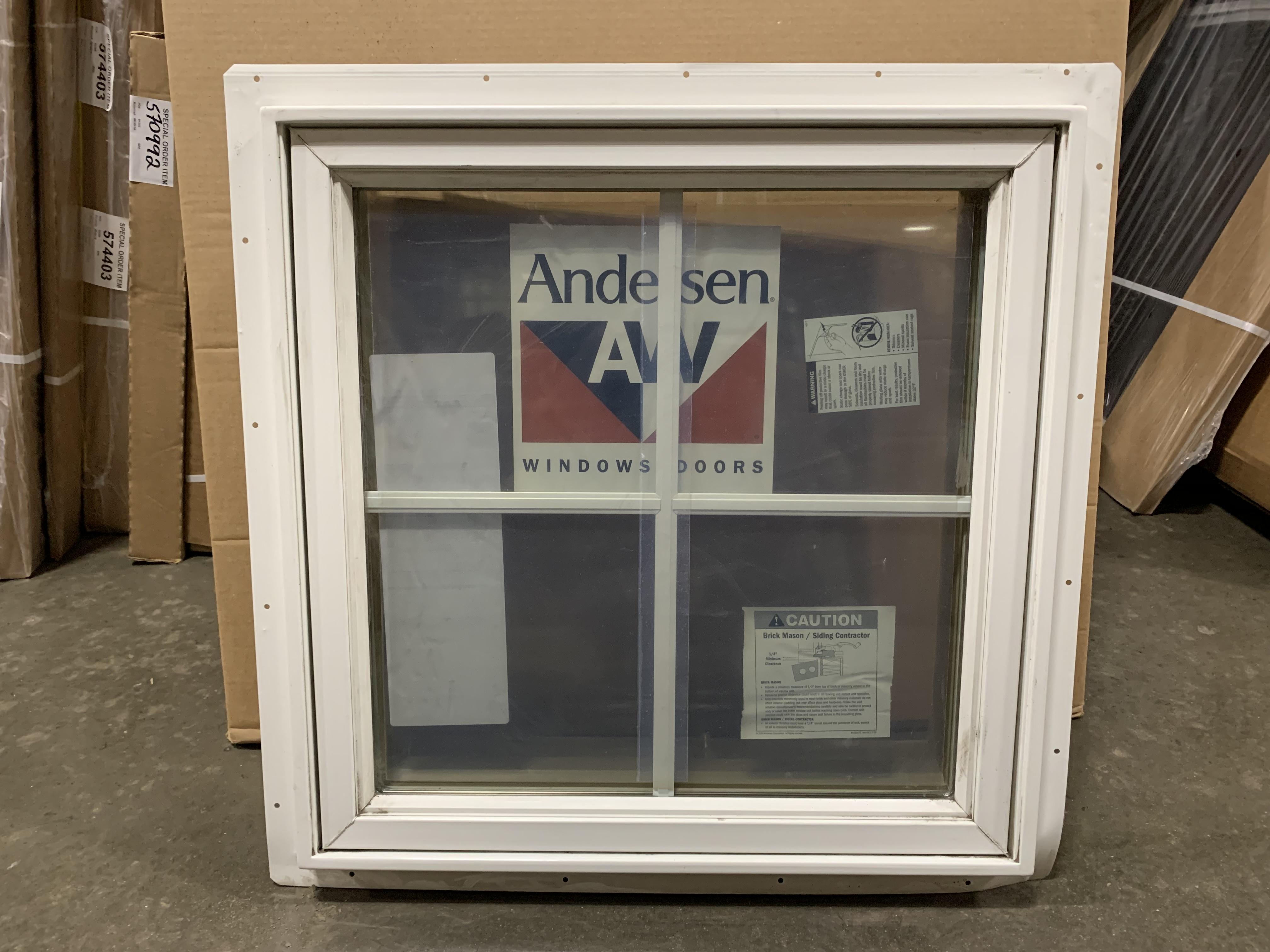 Andersen Vinyl-Clad Wood Frame Awning Window