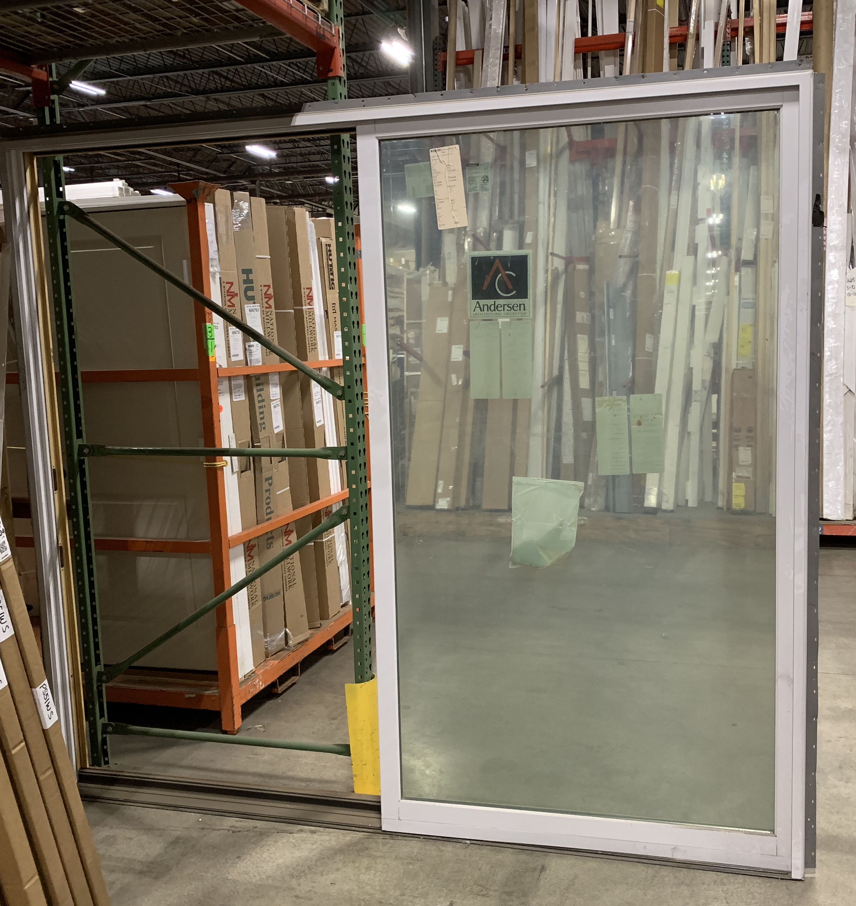 Andersen Gliding Patio Door w/Frame