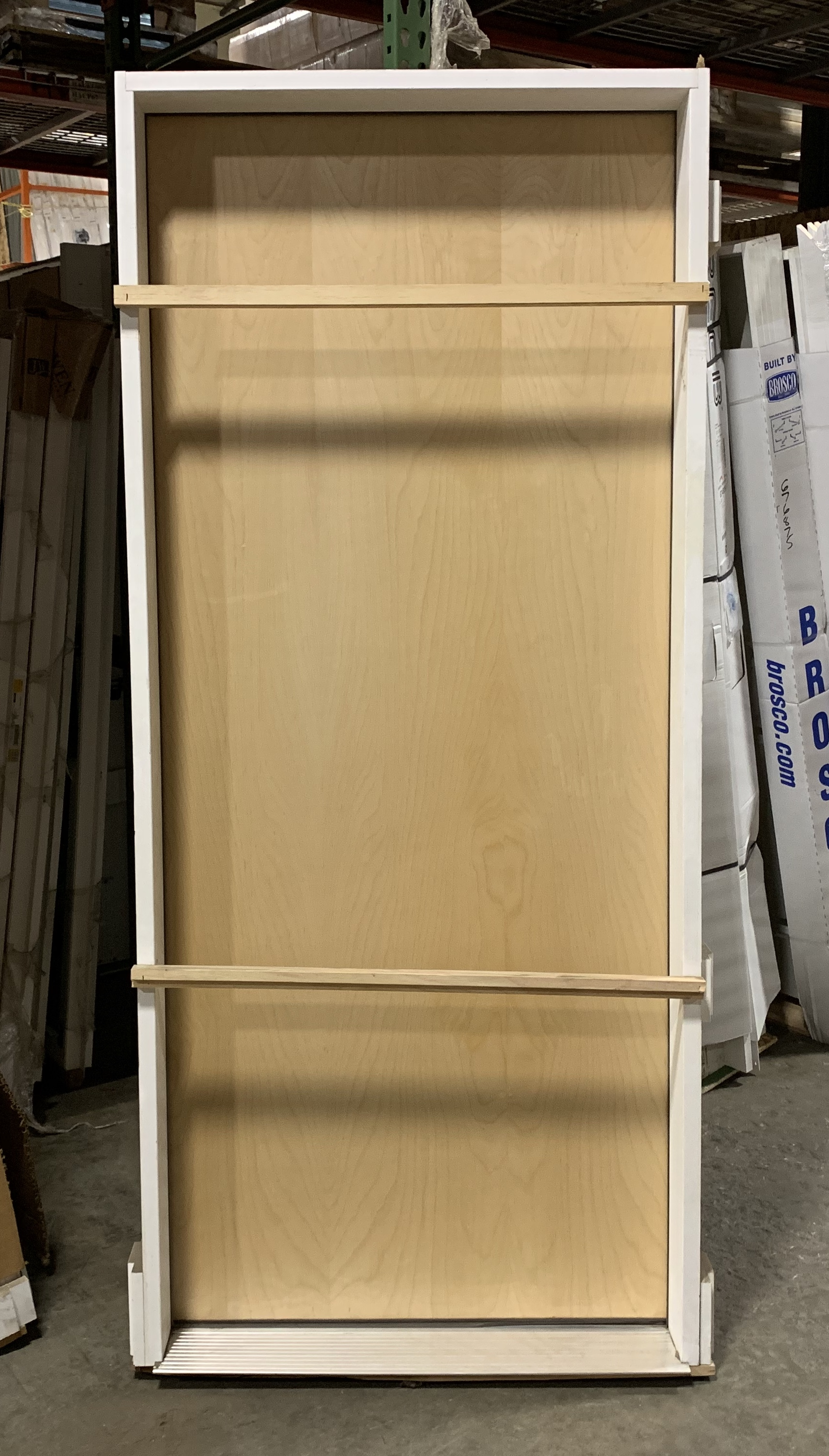 BROSCO 3070 Exterior Birch RHOS Door w/Wood Frame