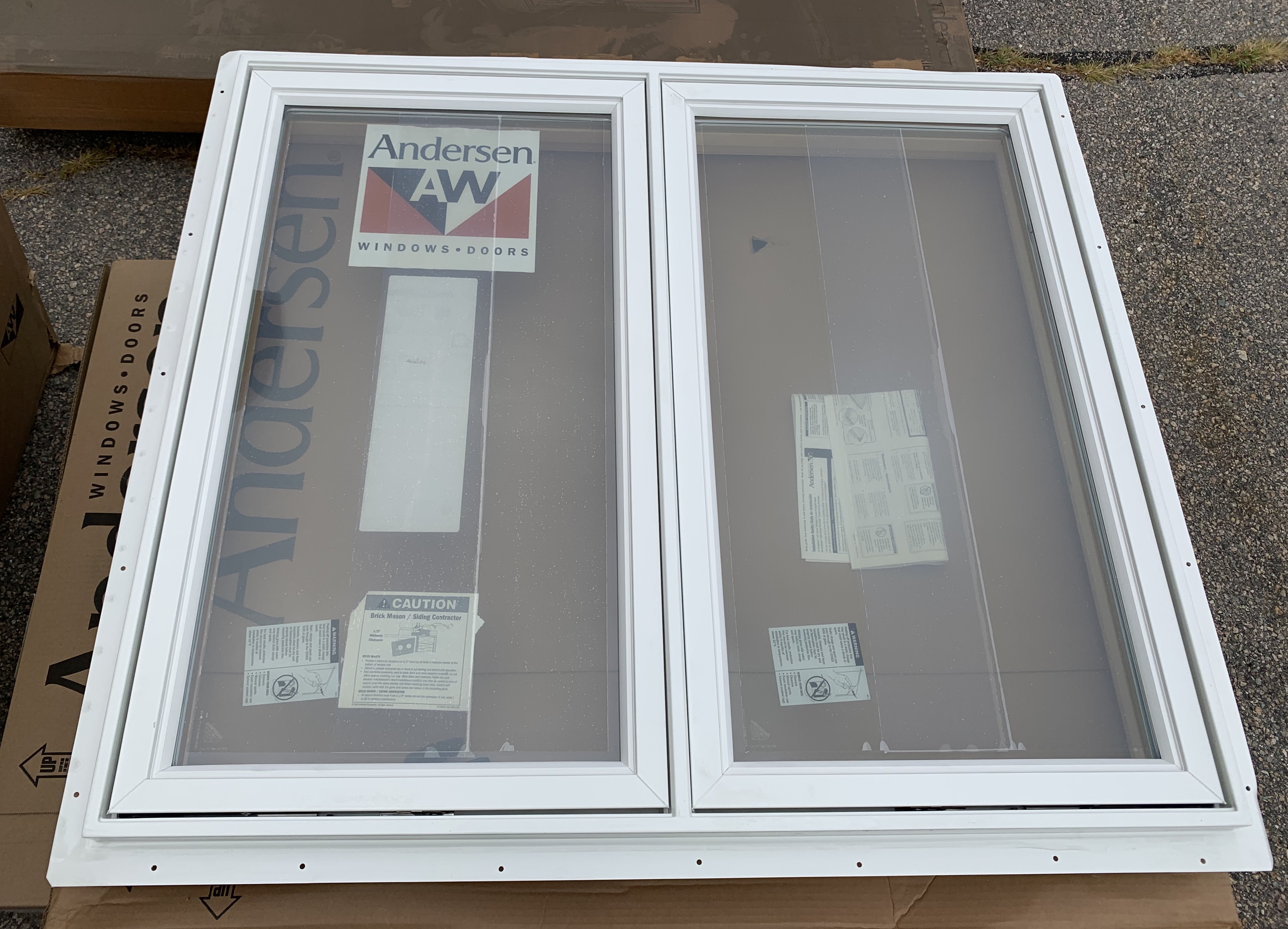 Andersen CN23LR Twin Casement Window